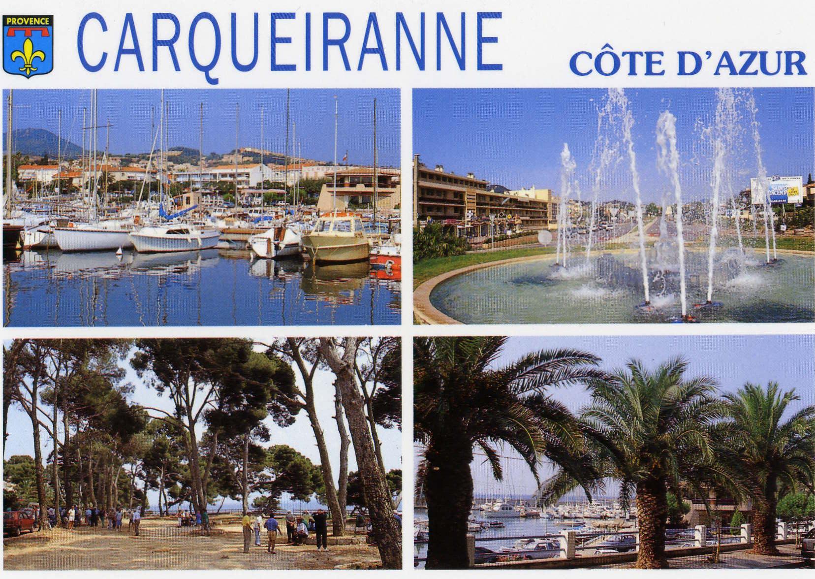 Pr sentation de 2 villes en bord de mer carqueiranne iles de porquerolles blog mer - Coiffeur du port carqueiranne ...